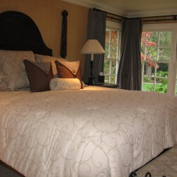 Custom Bedding and Curtains