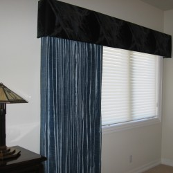 Curtains and Cornice