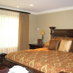 Sheers, Curtains and Custom Bedding